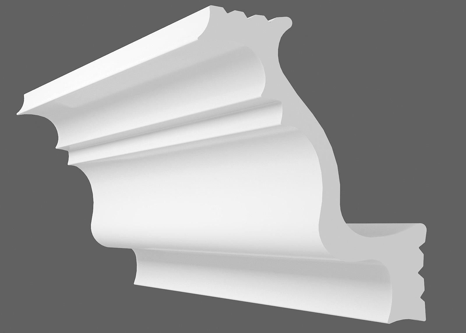 Потолочный плинтус D-50 (Размер:40х50мм)