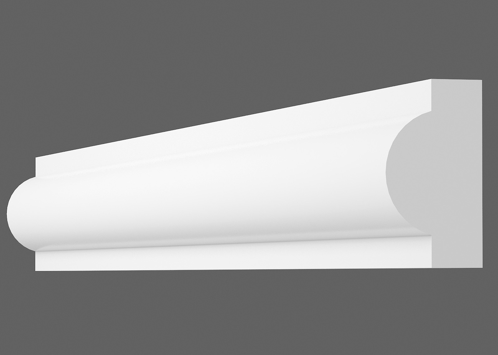 Потолочный плинтус I-20 (Размер:10х20мм)