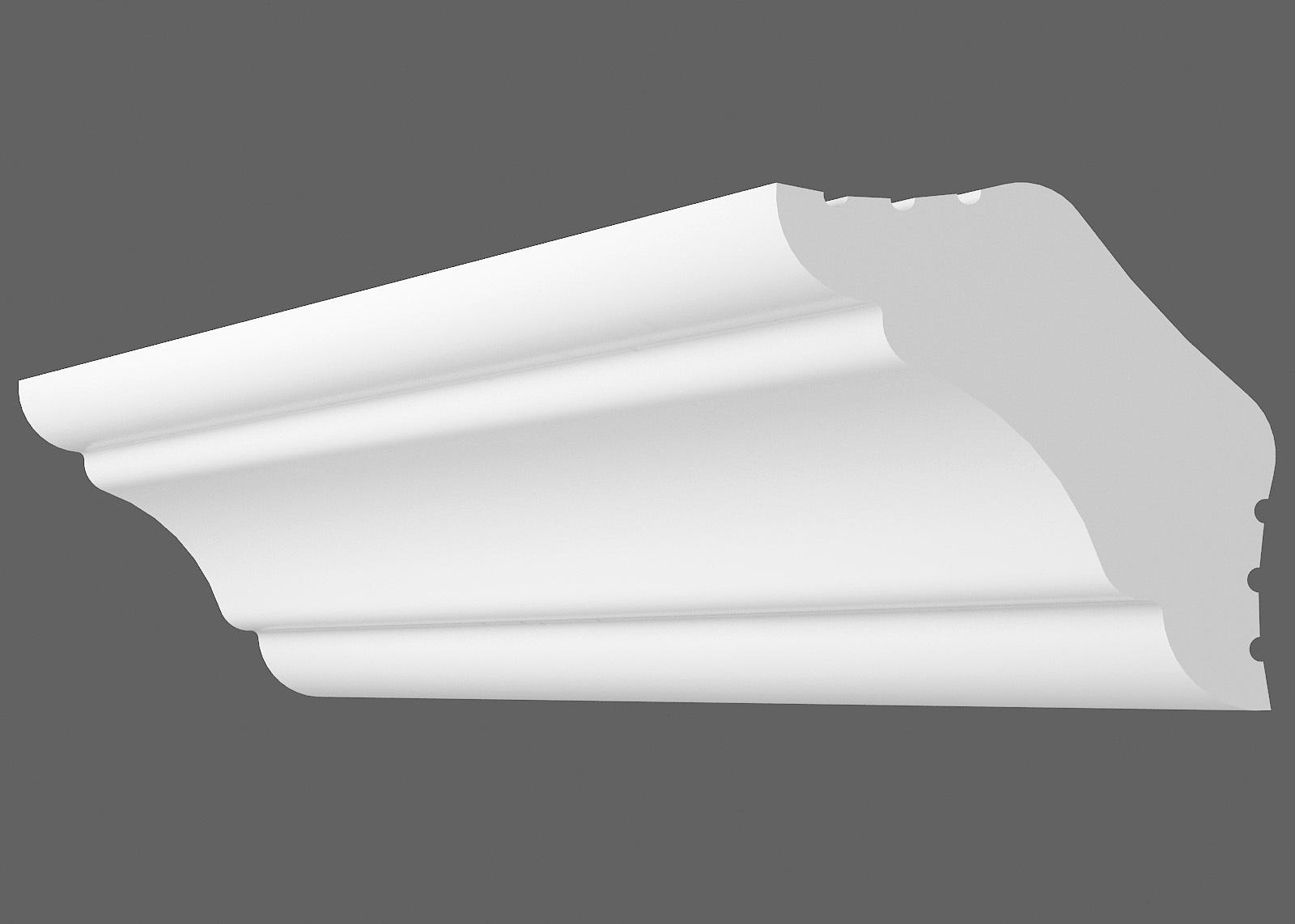 Потолочный плинтус K-25 (Размер:20х20мм)