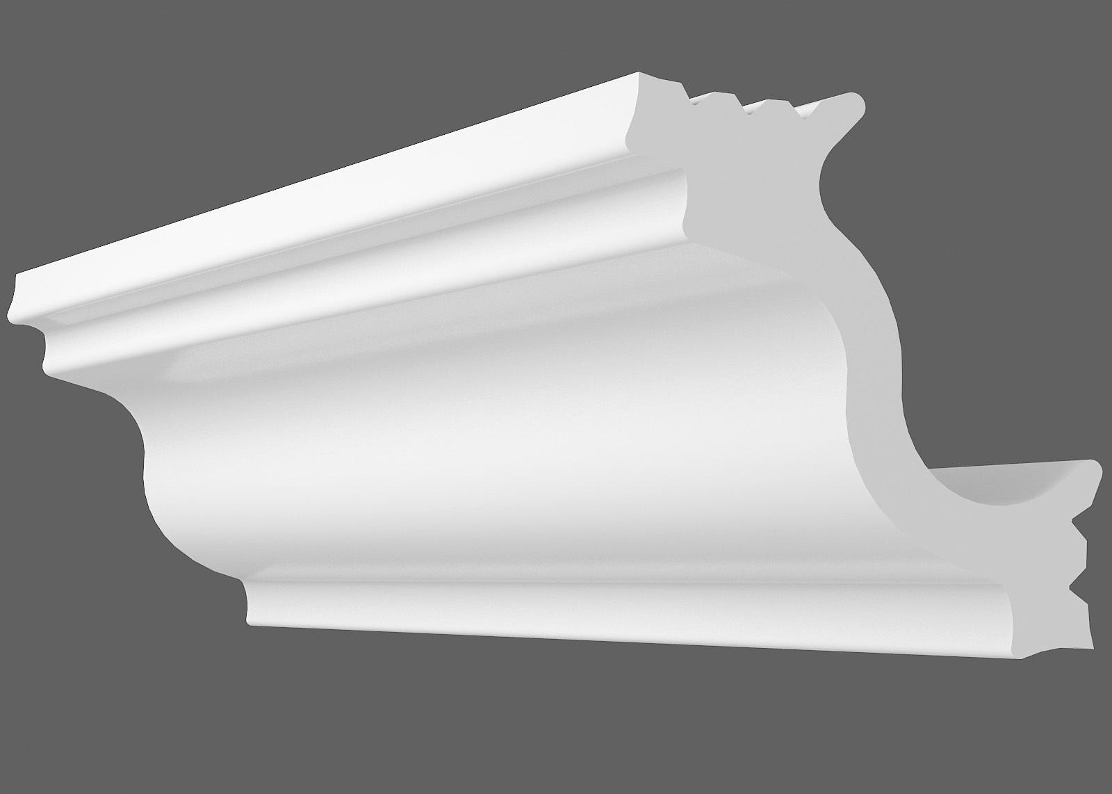 Потолочный плинтус M-40 (Размер:30х30мм)