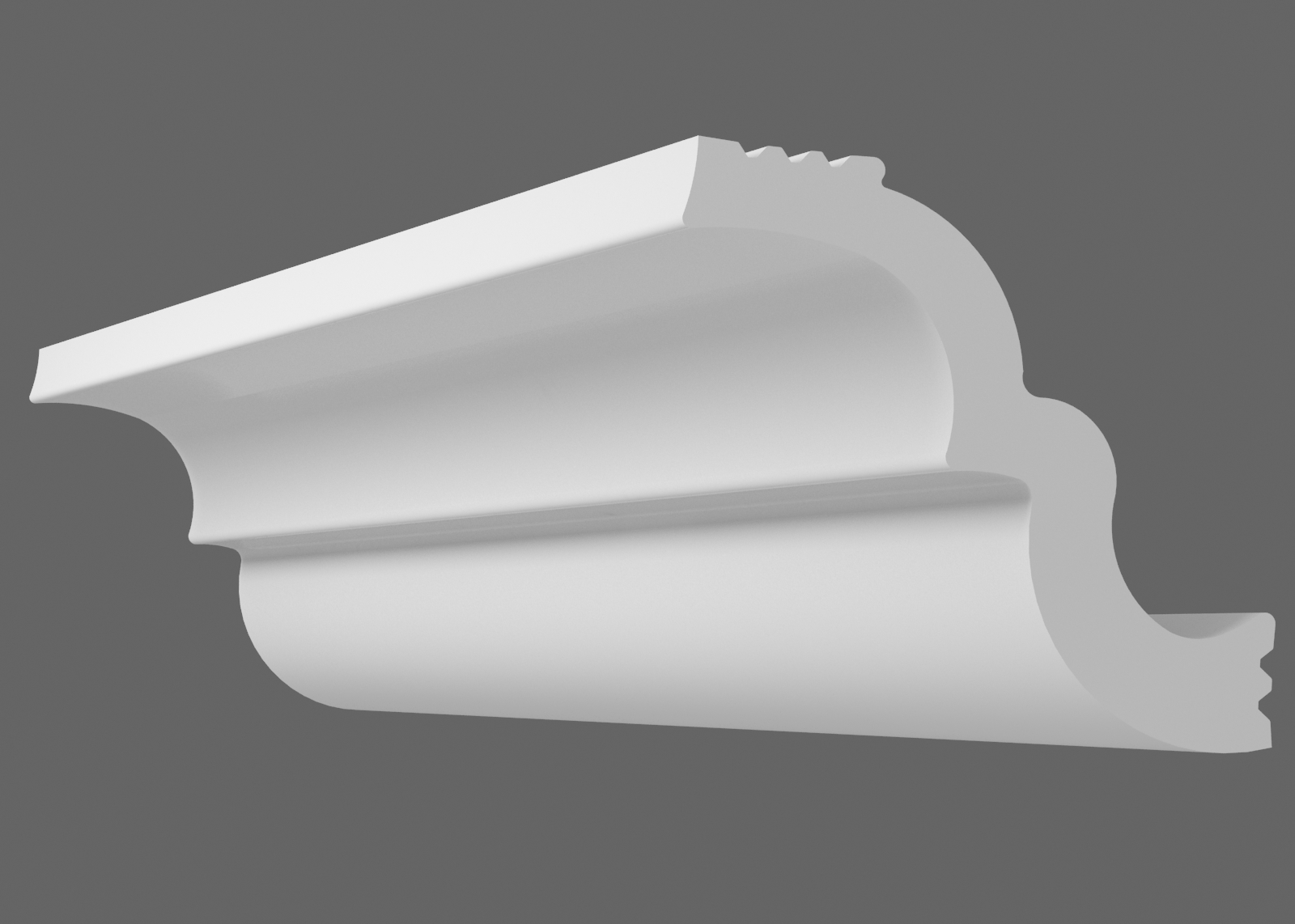 Потолочный плинтус S-40 (Размер:30х30мм)